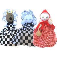 Boneca Chapeuzinho Vermelho (3 em 1)